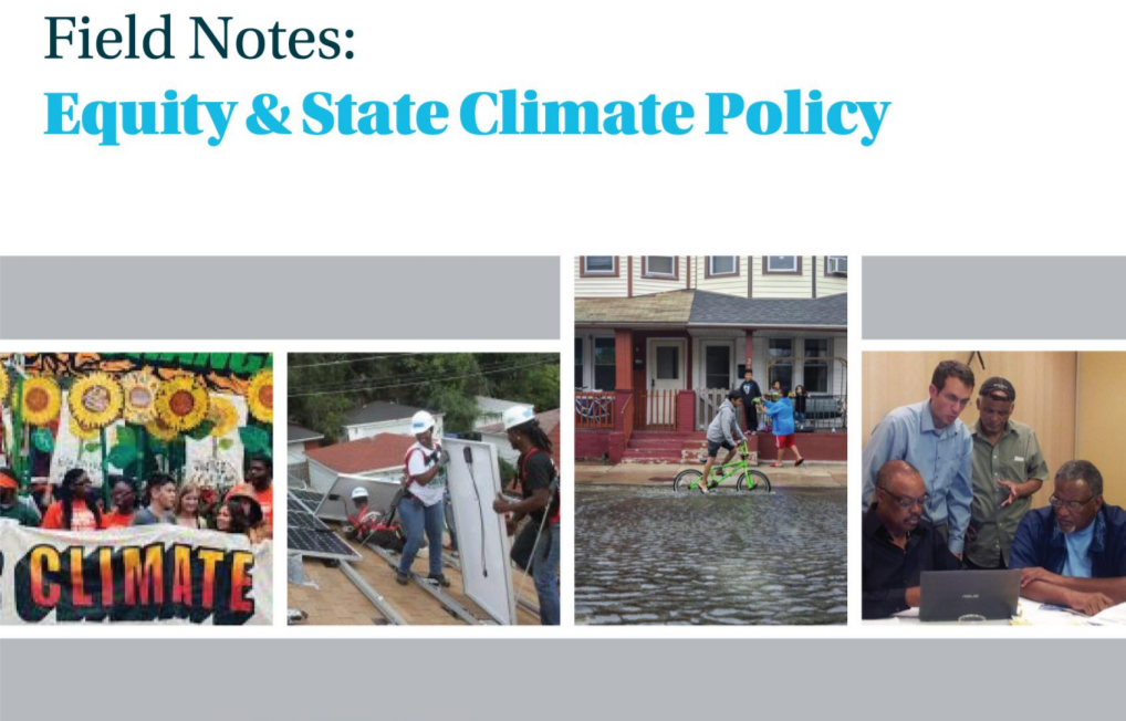 flyer image for equity state climate policy