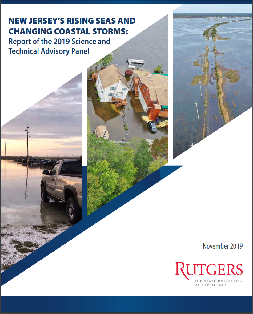 New Jersey's Rising seas and Changing Coastal Storms: Report 2019